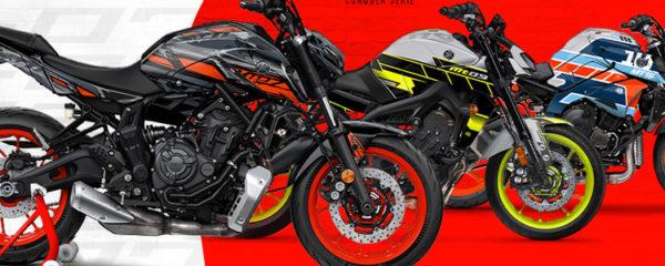 moto avec un kit déco